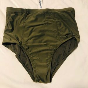 NWT Old Navy Highwaist Swim bottoms